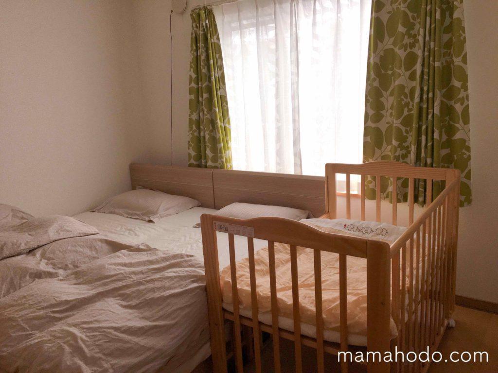 帰省 赤ちゃん 寝る場所