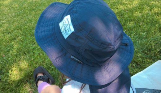 シンプルで日よけもバッチリ!保育園やアウトドアにも使える子ども用帽子(ハット)